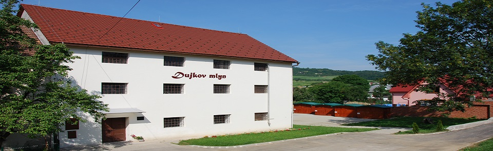 The mill of Emil Dujka was built in 1936 on electric propulsion using Francisci turbines.